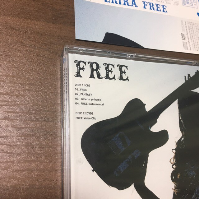 ERIKA沢尻エリカ初回限定CD+DVD帯付きFREEシングル新品未再生 < タレントグッズの