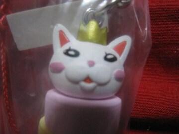 レア限定 王様猫だるま落とし ミニフィギュアマスコット 非売品 新品