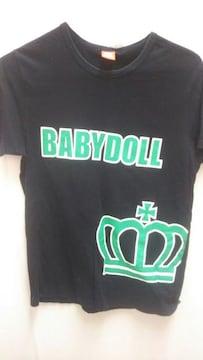 ベビードール BABYdoll Tシャツ 黒
