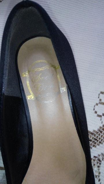 ∞ 黒の靴 < 女性ファッションの
