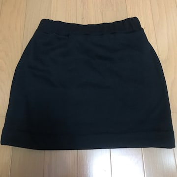 ANAP☆スウェット生地ミニスカート☆フリーサイズ