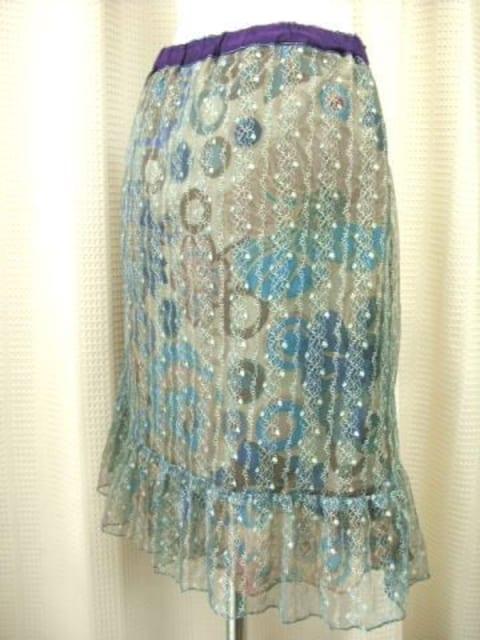 【Flower Children】2枚重ねフリルスカートです < 女性ファッションの