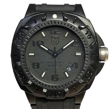 美品正規ルミノックス時計SENTRY0200シリーズ0201ブラックア