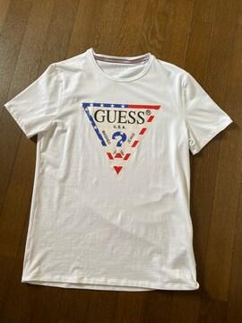 GUESS☆ロゴプリントTシャツ・美品