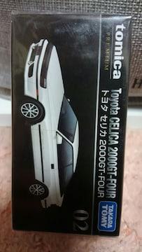 トミカ プレミアム 02 トヨタ セリカ 2000GT FOUR 未開封 新品 ホワイト