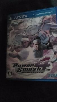 PS vitaソフト/テニス・パワースマッシュ4