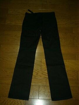 新品SHELLACシェラックコットンパンツ黒48薄手ワンタック5351