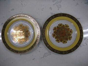 ケーキ皿 2枚セット 中古
