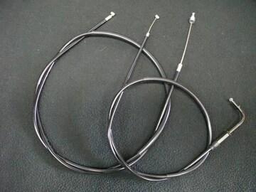 (2021)GX400 15cmロングアクセルクラッチワイヤーセット