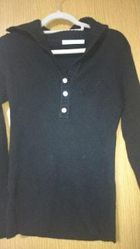 M.deuxエムドゥ☆美品黒セーター