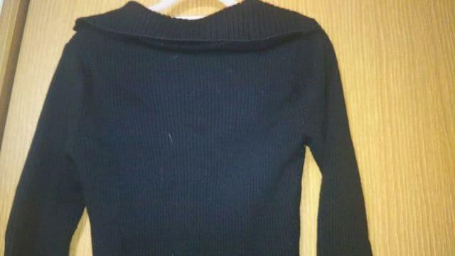 M.deuxエムドゥ☆美品黒セーター < ブランドの