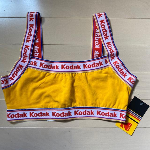 新品 未使用 タグ付き Kodak スポブラ フォーエバー21 インナー  < 女性ファッションの