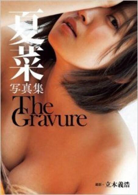 ■本『夏菜写真集 The Gravure』美人女優 巨乳  < タレントグッズの