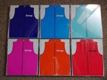 SMAP 初回カラージャケット Smap Vest  6枚セット