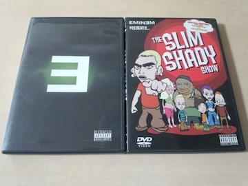 エミネムEminem DVD2枚セット★「E」「THE SLIM SHADY SHOW」