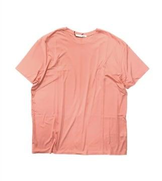 moussyマウジーユルシルエットTシャツサーモンピンク(L)新品