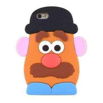 Mr ポテトヘッド iphone6plus 6splus シリコン ケース カバー