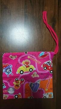 ☆アンパンマン☆給食袋☆ピンク☆