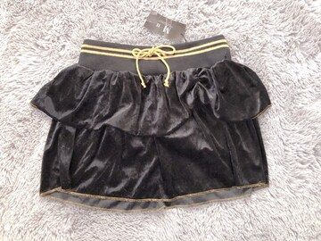 未使用★ベロアスカート