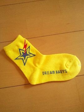 新品星靴下/黄16〜18�pドリベビBABYDOLLベビードール