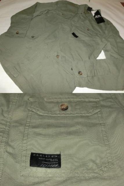 USA購入オークリー【Oakley】綿100%【DawnShacket Jacket】US L < ブランドの