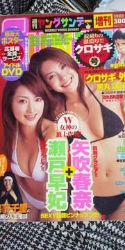 週刊ヤングサンデー増刊◆02/2/13★瀬戸早妃+矢吹春奈/森下千里/クロサギ