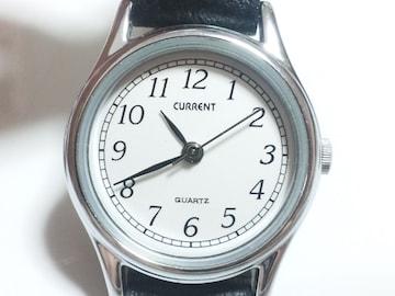 12378/CURRENTお洒落なラウンドフェイスシンプルなレディース腕時計格安!