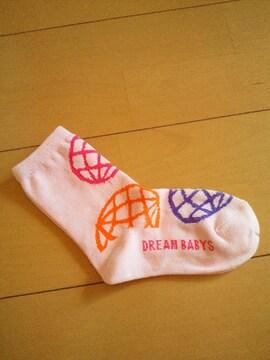 新品アース靴下/ピンク16〜18�pドリベビBABYDOLLベビードール