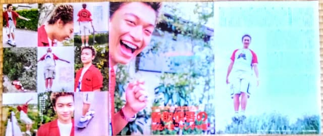 香取慎吾 SMAP 切り抜き 2000年 貴重 写真 ロング インタビュー  < タレントグッズの