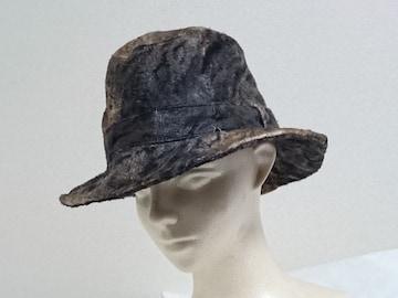 正規 hyde着 Roenロエン ヒロムタカハラ タイガーファー コーティングハット レオパード 帽子
