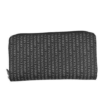 ◆新品本物◆アルマーニエクスチェンジ ラウンド長財布(BK)『958055 CC230』 ◆