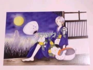 【即決】夏目友人帳*ポストカード*ニャンコ先生&夏目貴史