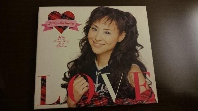 松田聖子「LOVE-20th Anniversary Best Selection-」ベスト  < タレントグッズの
