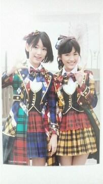 AKB48 希望的リフレイン タワーレコード特典写真 渡辺麻友 宮脇咲良 タワレコ
