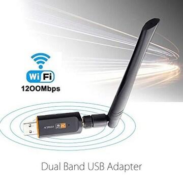 無線 LAN 子機 WIFI 1200Mbps USB3.0 アダプタ