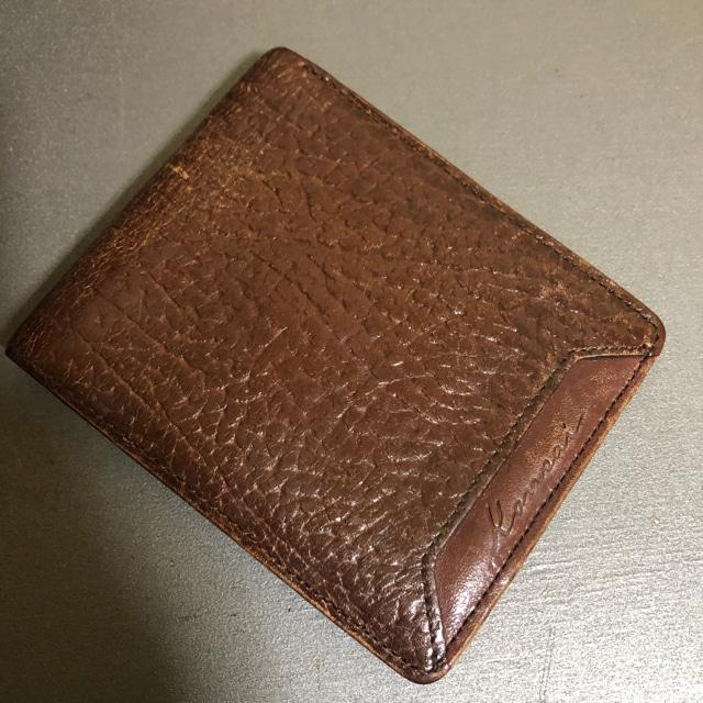 1スタ オススメ☆  レザー 折財布  < 男性ファッションの