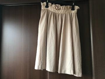 トランテアン ハイウェストスカート  毛100% S