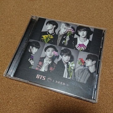 BTS【I NEED YOU】CD&DVD