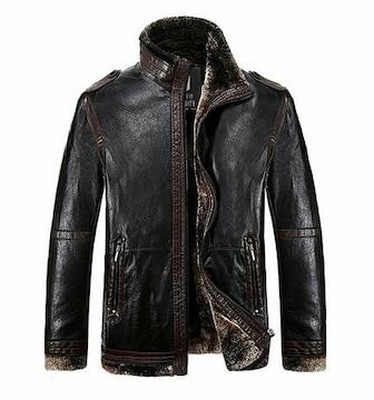 M〜XXXL ブルゾン コート ジャケット 黒