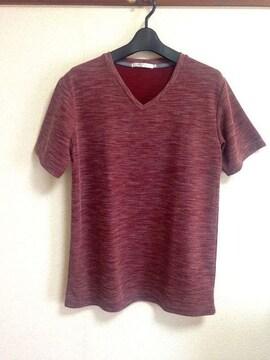 genuine product◆ボルドー Tシャツ カットソー Lサイズ
