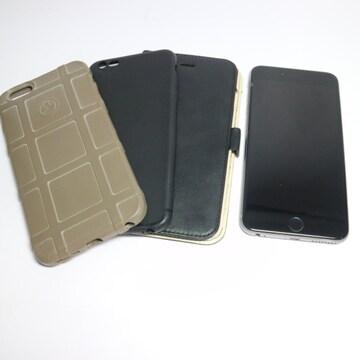 ●美品●SIMフリー iPhone6S PLUS 128GB スペースグレイ●