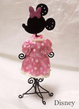 Disney ミニーちゃん●ドレスアクセサリースタンド●Pinkピンク