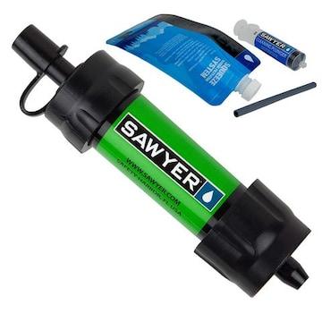 ミニ 浄水器 グリーン