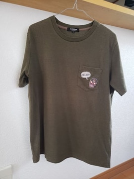 Doublefocus メンズ 半袖 Tシャツ カーキ L