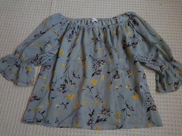 ☆allamanda 花柄シフォンオフショルTOP☆38