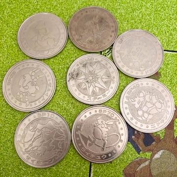 明治乳業 食玩メダル 任天堂メタルコインポケモンのバトルコイン