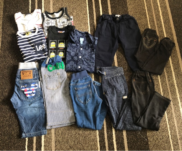 ☆子供服12点 110cm☆babyGap・Lee・GLOBAL WORK他