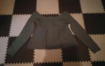 nusy Lサイズ 可愛いセーター 美品