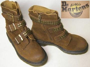 ドクターマーチン3ストラップ ブーツ スタッズ14112201uk5