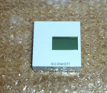 送料無料!簡易電力量計 エコワット ecowatt  T3T-R2 中古作動品